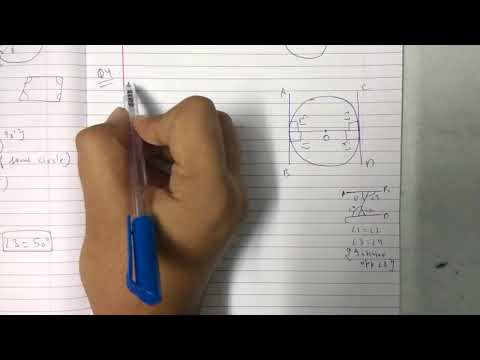 Chapter 10 Exercise 10.2 (Q4) CIRCLES || NCERT || Maths class 10