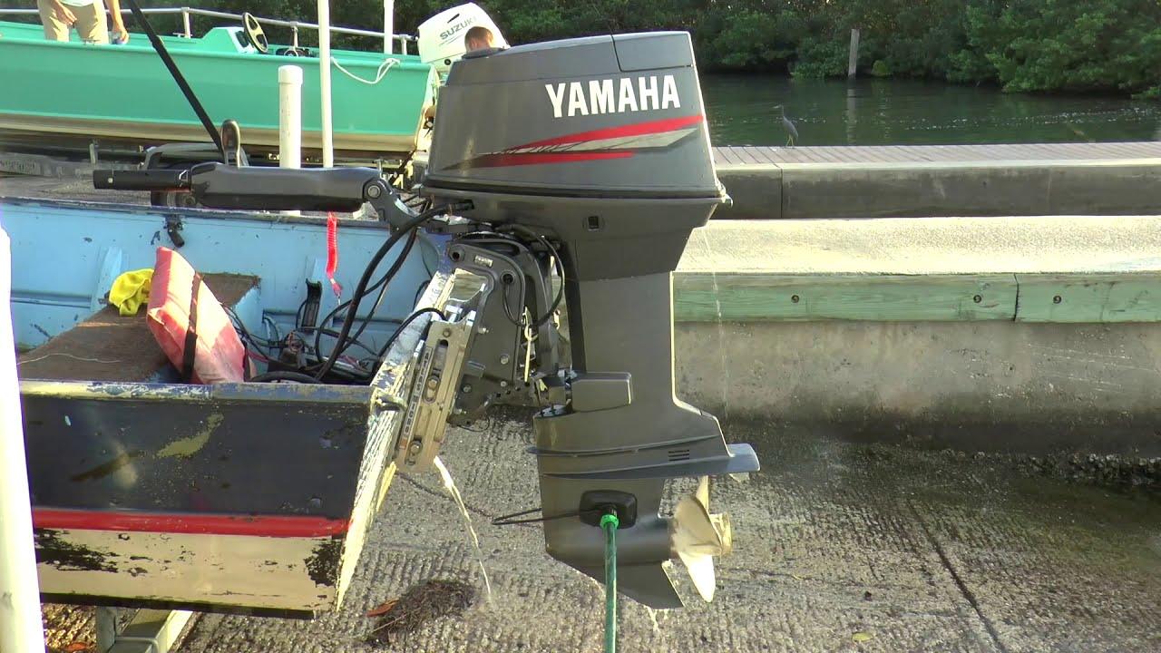 2001 Yamaha 60hp 2 Stroke Outboard Motor
