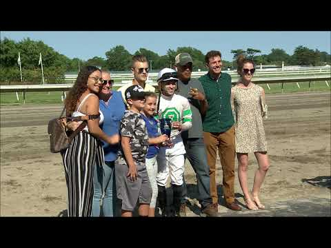 video thumbnail for MONMOUTH PARK 6-28-19 RACE 8