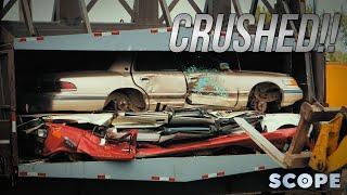 How Much Can a Car Crusher Crush?   SCOPE TV