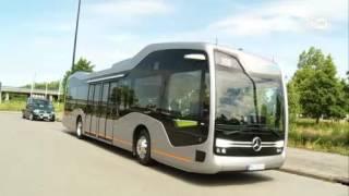 کمپانی دایملر اتوبوس بدون راننده خود را به نمایش گذاشت