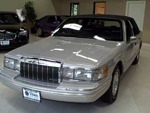 1992 Lincoln Town Car Titan Auto Sales Youtube