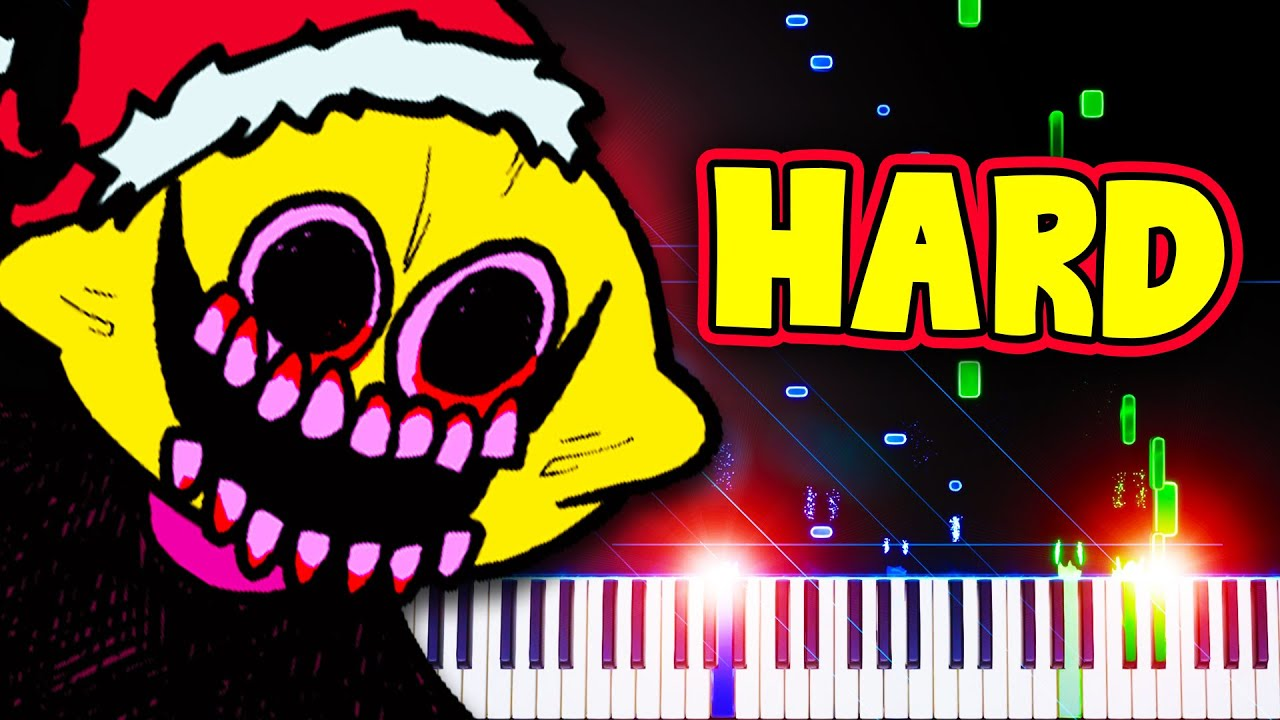 Winter Horrorland (from Friday Night Funkin') - Piano Tutorial