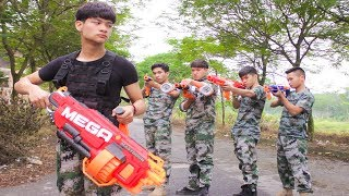 Nerf War: Special Soldier & SWAT MAN Nerf Guns Assassin Rescue Brigadier Nerf movie