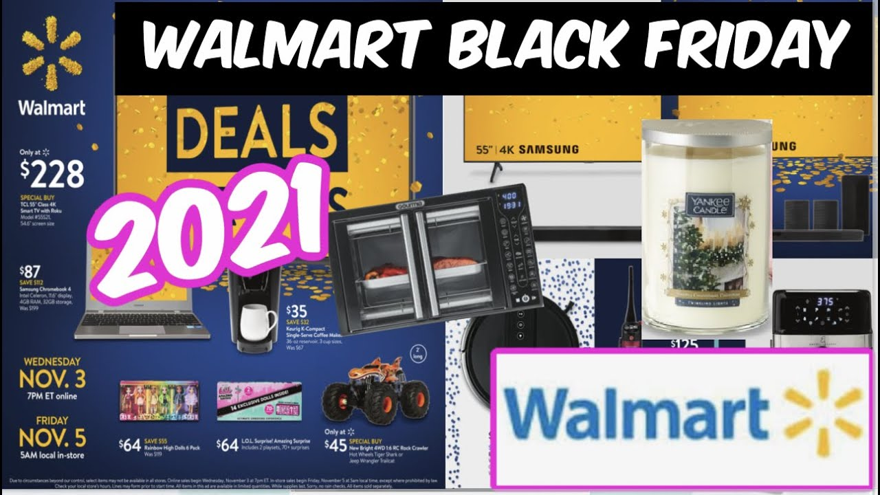 When is Walmart's Black Friday Deals for Days 2021? - TODAY