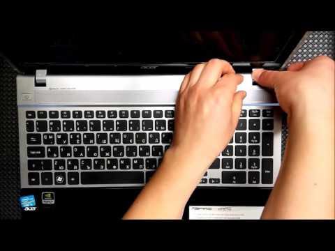Acer Aspire V3 571G disassembly [no audio].