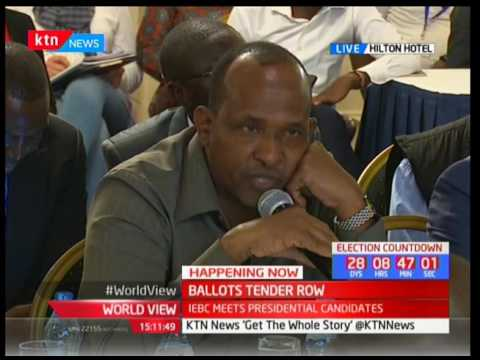 World View - 10th July 2017 - Jubilee Party to appeal Court decision on ballot tender