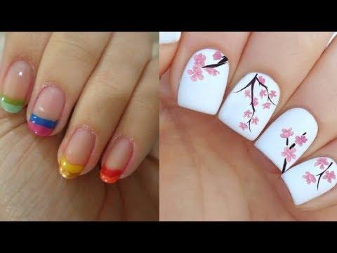 Easy Nail Art Designs For Beginners 💖 Easy Nail Art 💖 Nails 💖 DIY Nails 💖 Part 4