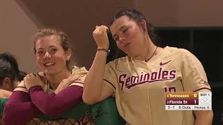 NCAA Softball 2019 | #6 Tennessee vs  #2 Florida State  (Feb.17)