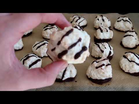 chocolate-almond-coconut-crisp-cookies-😋-/-quick-to-make-with-few-ingredients