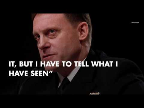 NSA Chief Admiral Rogers Admits Donald Trump Colluded With Russia