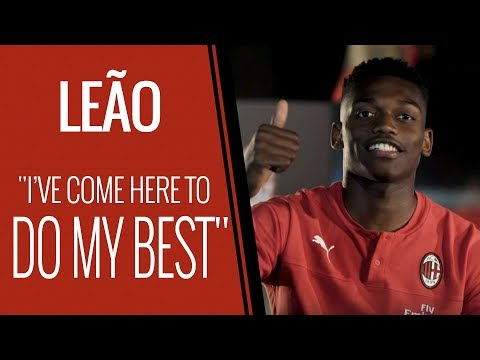 Rafael Leão first interview in Rossonero | Subs available