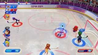 Mario & Sonic: Sochi 2014 Olympic Games - Ice Hockey