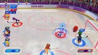 Mario & Sonic: Sochi 2014 Olympic Games - Ice Hockey
