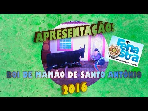 Boi de Mamão de Santo Antônio  - 2ª apresentção FENAOSTRA 2015