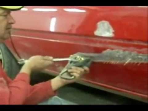 Car Bodywork Repairing Dents How To Youtube