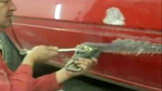 Car Bodywork - Repairing Dents How to