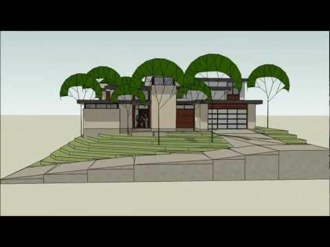 Modern Home - Dallas  -  Durango Design/Build Project - Design Study I