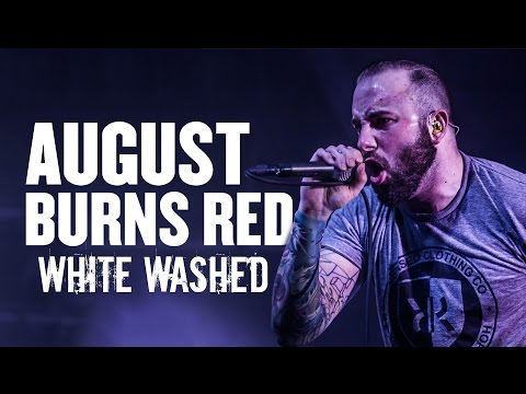"""August Burns Red - """"White Washed"""" LIVE! The Frozen Flame Tour"""