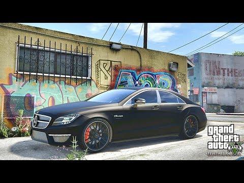 GTA 5 REAL LIFE CJ MOD #24 - GROVE ST!!!(GTA 5 REAL LIFE MODS/ THUG LIFE)