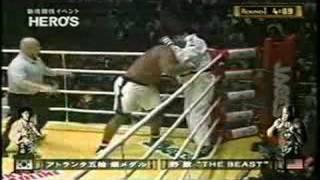 Bob Sapp vs Kimo
