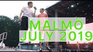 Marcus&Martinus – super fun show in Malmö, July 2019!