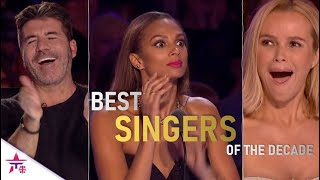 THE BEST SINGING AUDITIONS OF THE DECADE ON BRITAIN'S GOT TALENT!