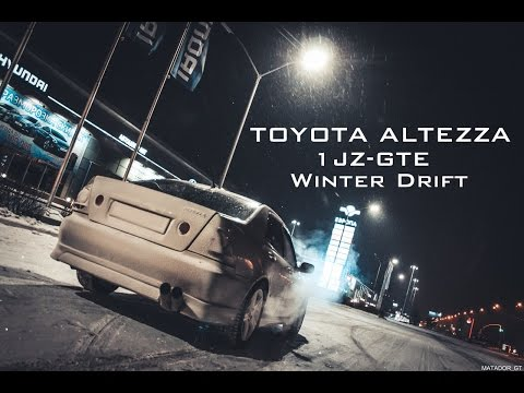 Toyota Altezza 1JZ-GTE | Winter Drift