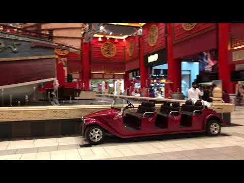 IBN Battuta shopping mall Dubai in 4k Walk-Through 2019 / 2020