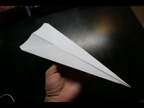How To Make A Regular Paper Airplane! Easy & Simple!