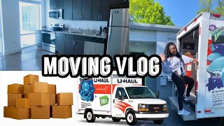 MOVING VLOG #1 - Empty APARTMENT TOUR + Moving into my NEW APARTMENT!!