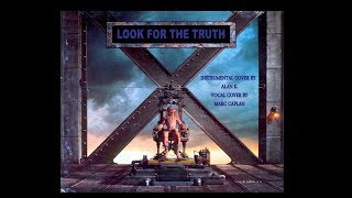 IRON MAIDEN - LOOK FOR THE TRUTH - COVER (The X Factor)