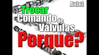 MAIS POTÊNCIA e TORQUE é só trocando comando de válvulas?  (Aula2) Preparação de Motores
