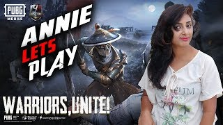 PUBG MOBILE || WITH DUAL CAM ANNIE IS HERE LETS ENJOY GAMING ||