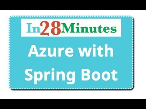 Azure Tutorial for Beginners with Spring Boot and Java thumbnail