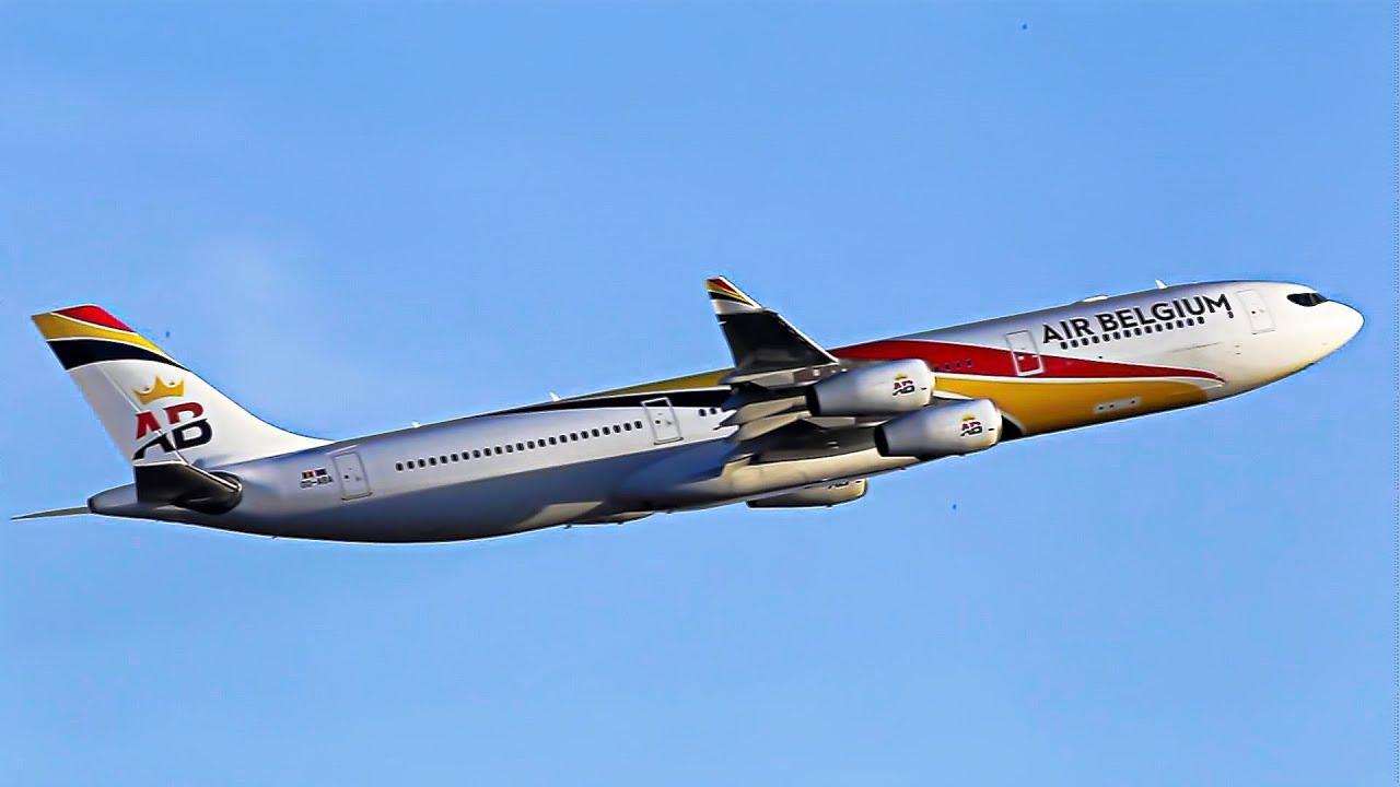 Resultado de imagen para Air Belgium A340