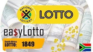 Lotto results South Africa 15 Sep 2018