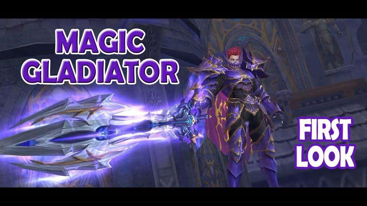 MU Origin 2 - Magic Gladiator Stats & Skills