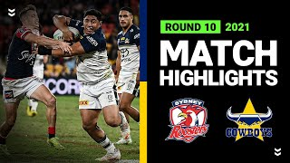Roosters v Cowboys Match Highlights   Round 10, 2021   Telstra Premiership   NRL
