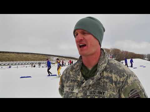 DFN:On Point With a Vermont National Guard Biathlon Coach, MIDWAY, UT, UNITED STATES, 02.28.2018