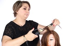 How to Use a Curling Iron - TheSalonGuy