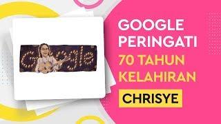 Google Doodle Tampilkan Chrisye Lengkap Dengan Lilin-Lilin Kecil