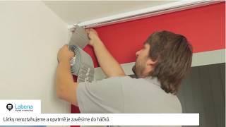 Vyměření a montáž vertikální žaluzie