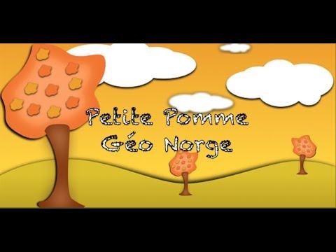 Berühmt Poésie  Petite pomme  Géo Norge  - YouTube TC05