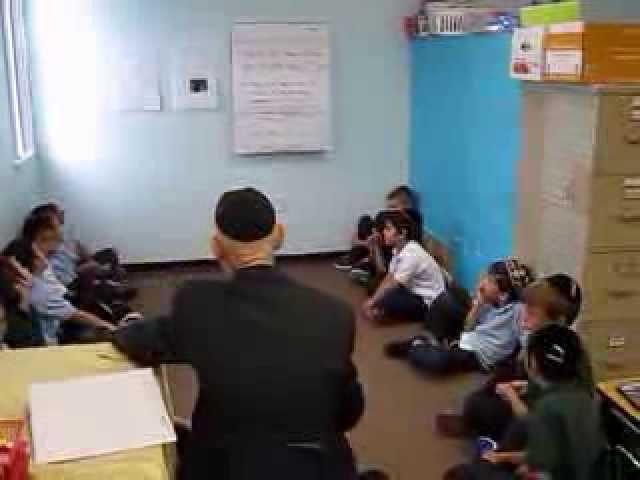 1B-2 Sings Shalom Aleichem