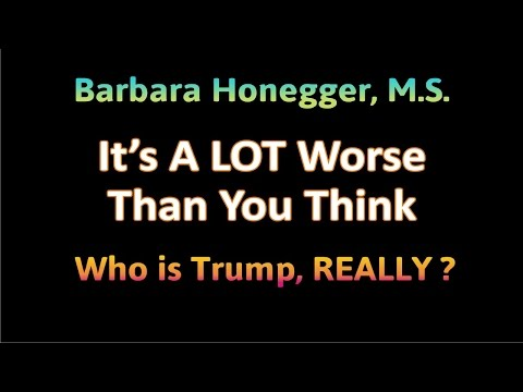 "Barbara Honegger, ""It's A LOT Worse Than You Think,"" 2/27/2017"