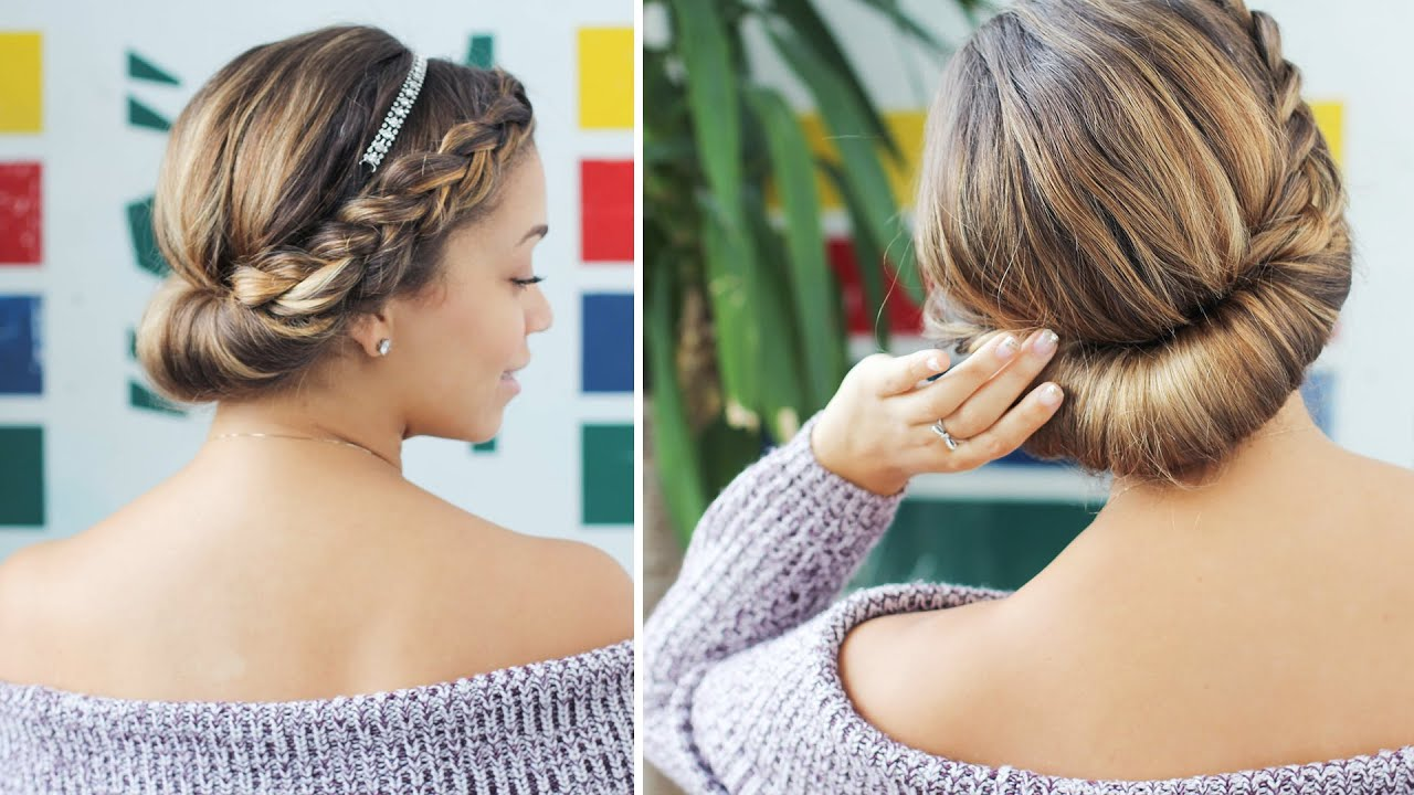 Easy Updo For Short Hair