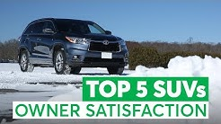The Top 5 Used SUVs Owners Love (And the 3 to Avoid)   Consumer Reports