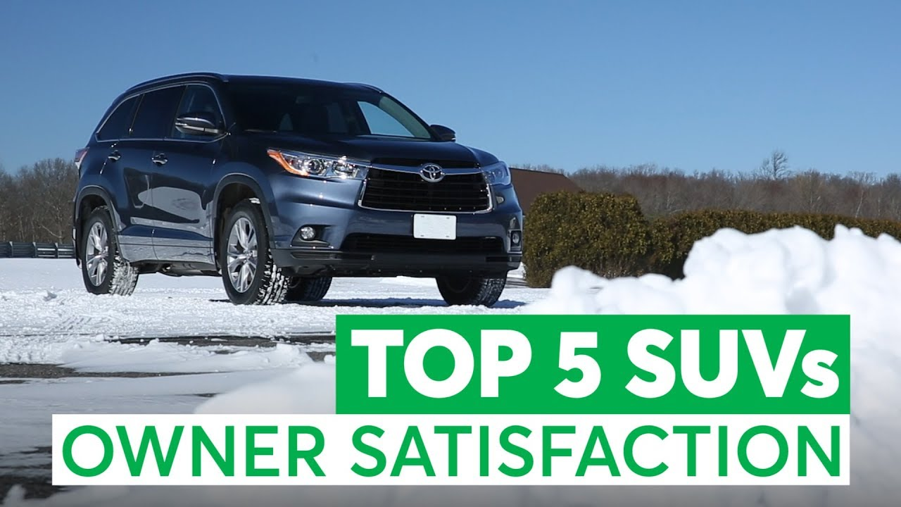 The Top 5 Used SUVs Owners Love (And the 3 to Avoid) | Consumer ...