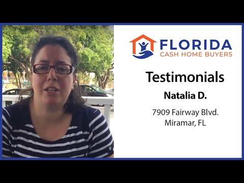 Florida Cash Home Buyers - Testimonial - Natalia
